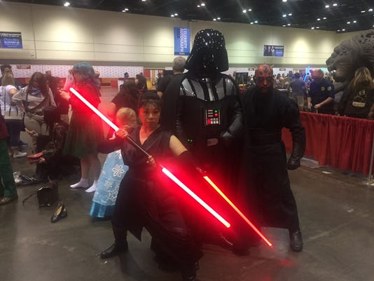Cosplayers MegaCon Star Wars villians