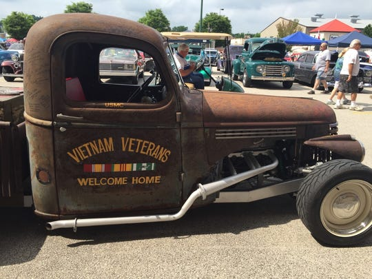 Mike Andrezzi, of Mantua, N.J., turned this 1946 Chevy