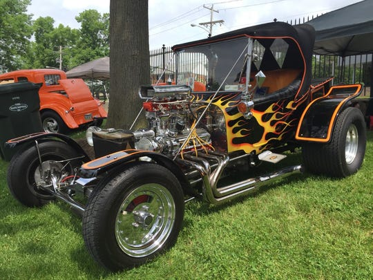 This 1923 Ford T-Bucket was one of the oldest vehicles