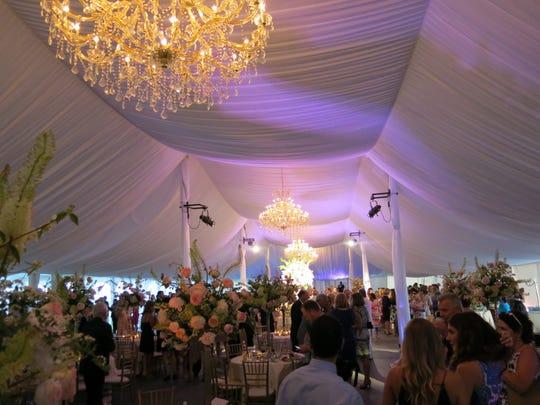 The Hernandez/Frierson wedding reception.