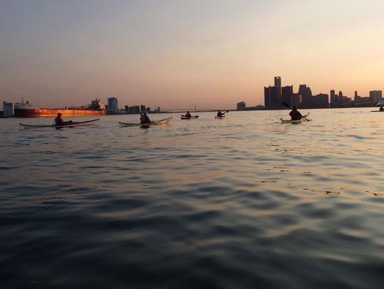 Riverside Kayak Connection now offers a Detroit Moonlight