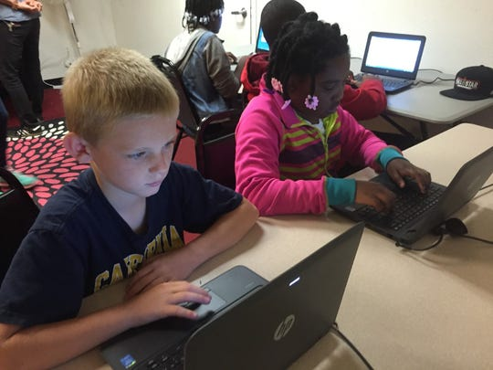 Children are learning to code in black churches.