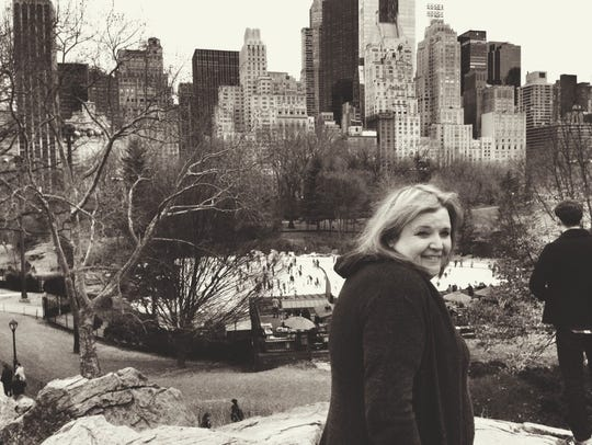Cait Brennan in New York City, where she met with Seymour