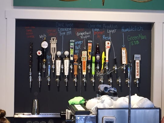 Grateful Brew offers 23 taps, including two for wine, and a range of non-alcoholic selections as well.