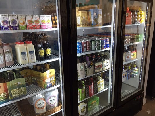 The tap house offers beer and wine for carryout as well.