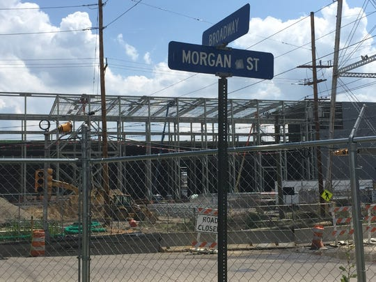 Morgan Street renamed Holtec Boulevard at the future site of Holtec International's technology campus.