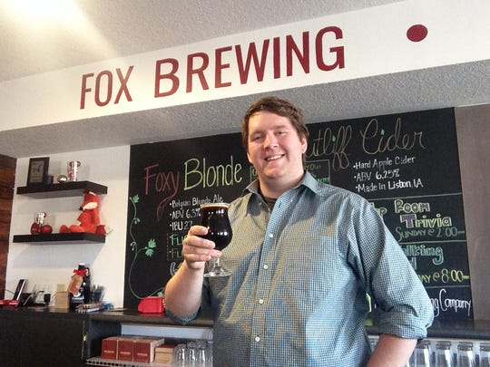Brian Fox opened Fox Brewing craft brewery in Valley Junction in September.