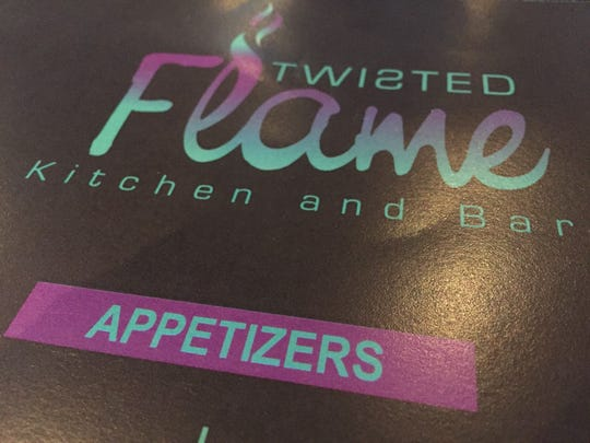 Twisted Flame among the new restaurants in Anderson