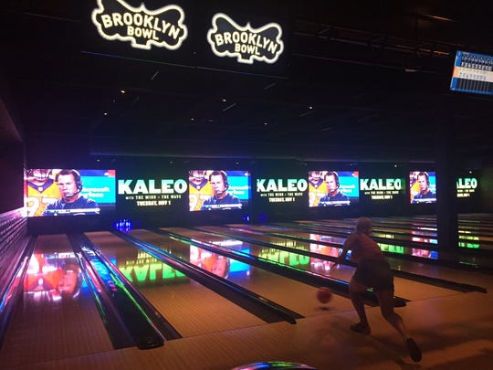 Brooklyn Bowl at The Linq Promenade.