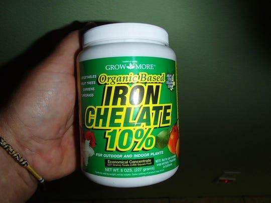 Iron chelate foliar spray Viragrow