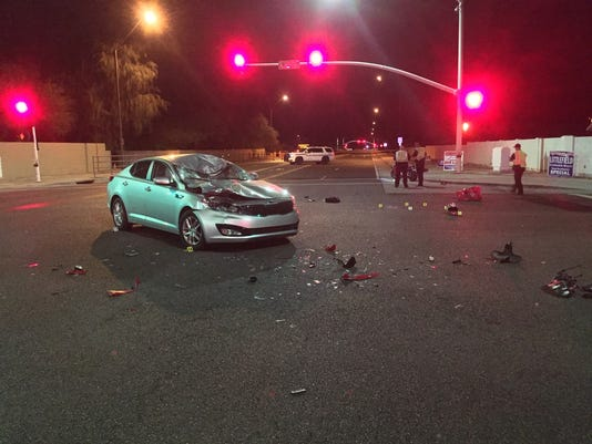 Fatal collision closes Scottsdale intersection