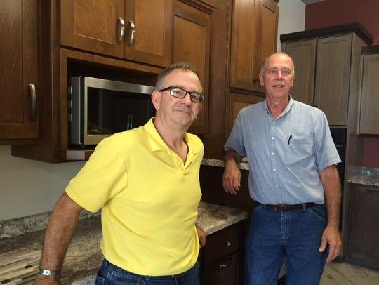 Wayne Heisler and Bob Kissinger, owners of FDL Kitchens