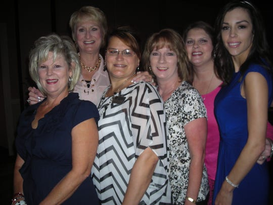 Citizens National Bank staffers at YWCA Luncheon: Marissa Bates, Jana Johnston, Nicole Wilhite, Tammy Young, Patty Rogers, Kim Thornton.