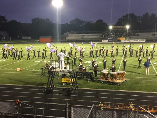 The Watchung Hills High School Marching Band