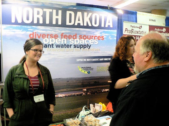 North Dakota invites farmers to milk in their state.