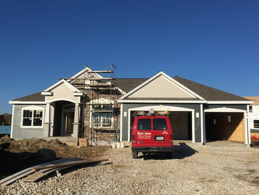 Home construction permits flat in October