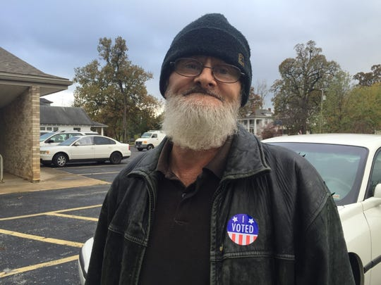 Phillip Rice voted on Election Day 2016.