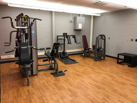 The new wellness center at Lakeland Regional High School in Wanaque opens today. Images taken on Nov. 15, 2016.