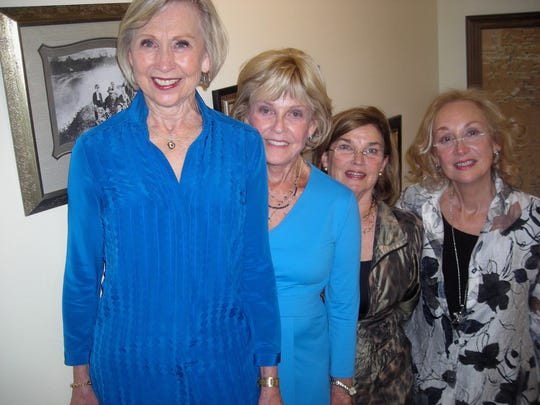 Judy Chidlow, Pam Byrd, Susan Cage and Lissa Grounsell
