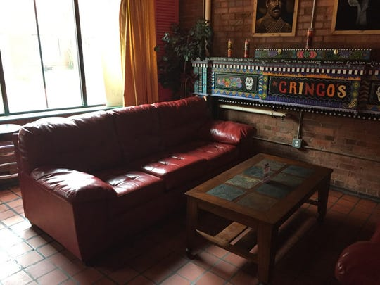 Gringo's in downtown Greenville is a comfy space with