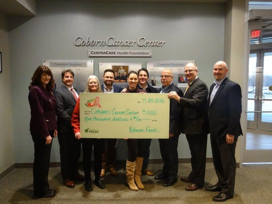Coborn's in St. Cloud donated $5,000 to the Coborn