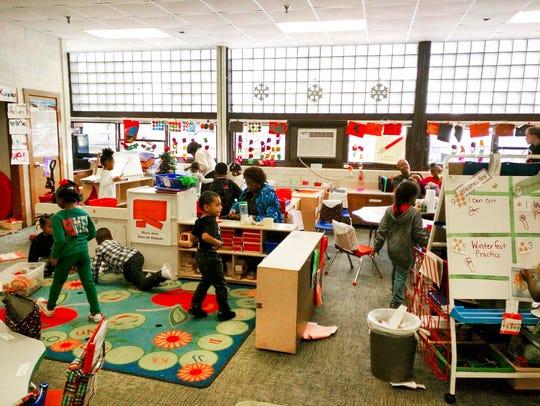 Children at the Fair Garden Family Community Center