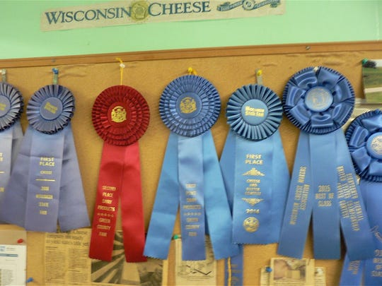 Chalet Cheese Co-op cheese wins a lot of blue ribbons.