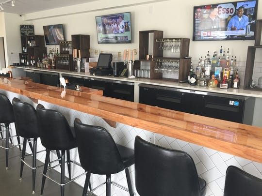 Earle Street at Brookstone has a full bar and three TVs for sports and more.