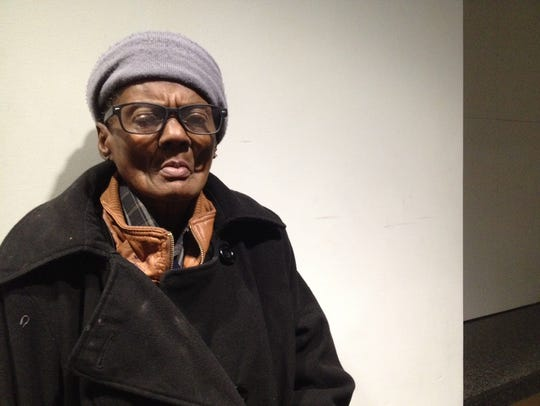 Jacqueline Ballard said she's homeless and was brought