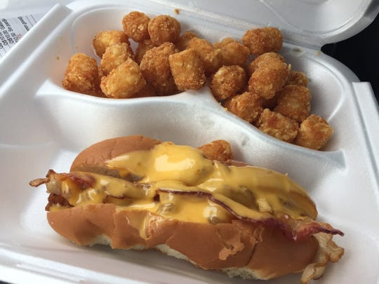 Valerie's Diner serves up bird dogs and tater tots Monday through Friday.