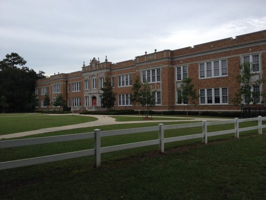 The current N.P. Moss Prep site is seen in Lafayette. The alternative school site is moving to a new building next year. This building will become a neighborhood elementary school.