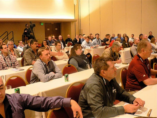 A wide variety of speakers drew crowds the seminars.