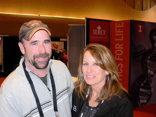 Tom and Lisa Vande Wettering, who milk 400 cows at