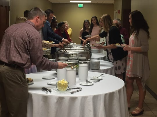 The 2016 graduates of Leadership University enjoyed a dinner and graduation program with their families.