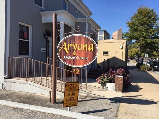 Aryana's cilantro chutney is perfect on everything.