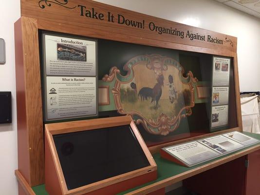 Carousel panel display