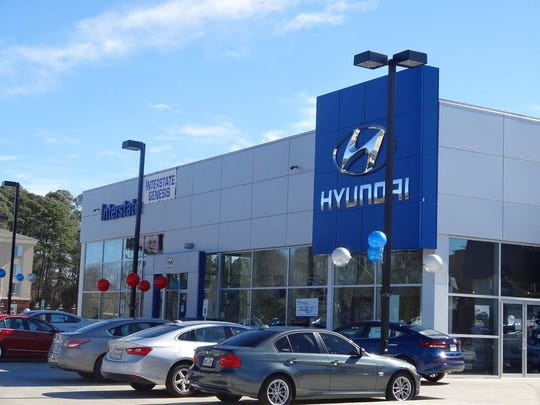 Interstate Hyundai hosts an Easter egg hunt on its