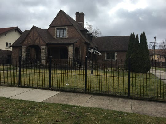This home in Highland Park was searched by law enforcement