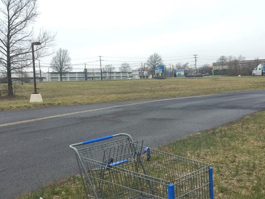 Lidl, a German grocery store chain, wants to build a store on this property at Route 38 and Cuthbert Boulevard in Cherry Hill.
