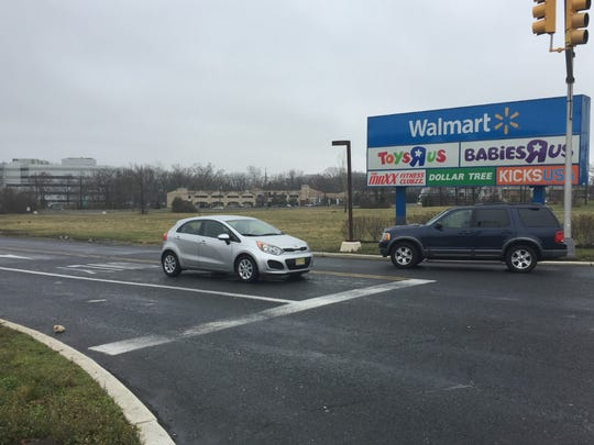 Lidl, a German-based grocery store operator, plans to build at this site at Route 38 and Cuthbert Boulevard, Cherry Hill.