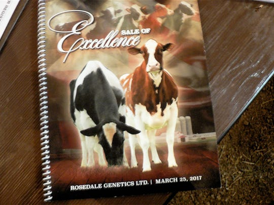 Sale catalogs were in demand for cattle information