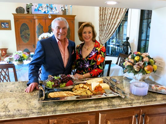 Bob and Joanna Robinson during spring celebration in