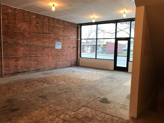 The interior of what will become Marrow, a new restaurant and butcher shop coming to Detroit's West Village neighborhood.