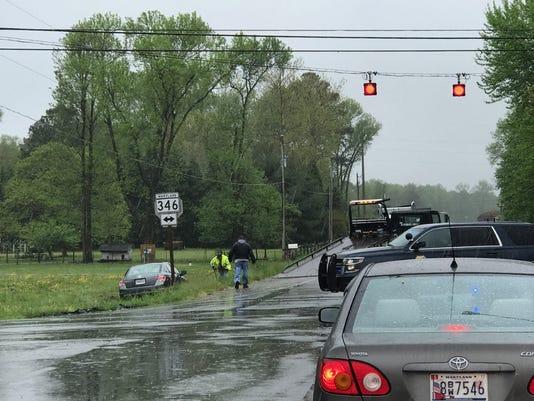 Worcester car wreck 2