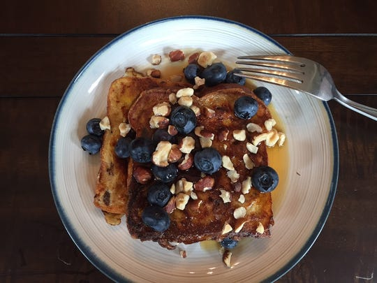 Sometimes, simple is best: Treat Mom to a plate of classic French toast.