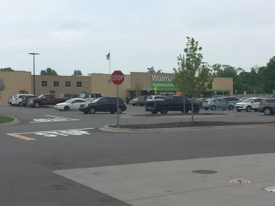 Walmart Neighborhood Market where shooting started