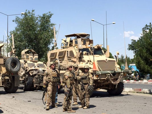 EPA AFGHANISTAN BOMB BLAST WAR ACTS OF TERROR AFG
