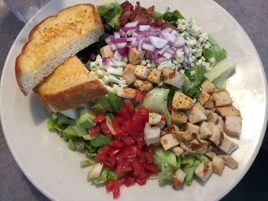 Generous Cobb salad at Humble Joe's in Anderson.