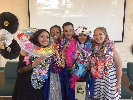 Graduates of the Guam Homeschool Association Class