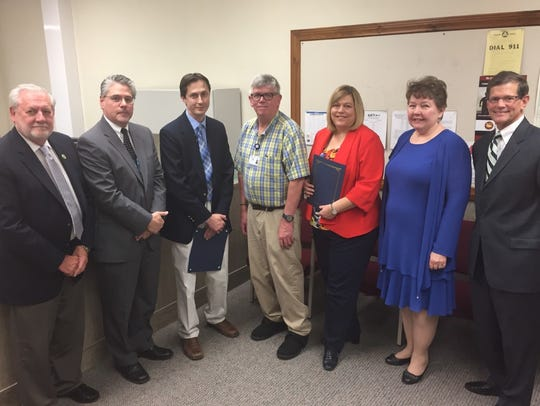 The Lebanon County commissioners recently declared